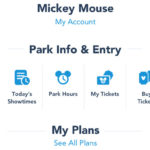 Disney Parks Updates Apps with New Features