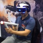 PlayStation VR at Fan Expo Canada