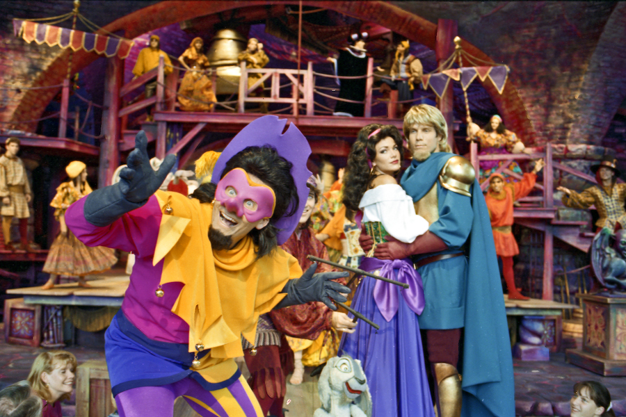 Disney Extinct Attractions: Festival of Hunchback Fools