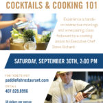 Paddlefish Hosting Rooftop Cocktails & Cooking Class