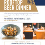 Paddlefish Hosting Rooftop Beer Dinner