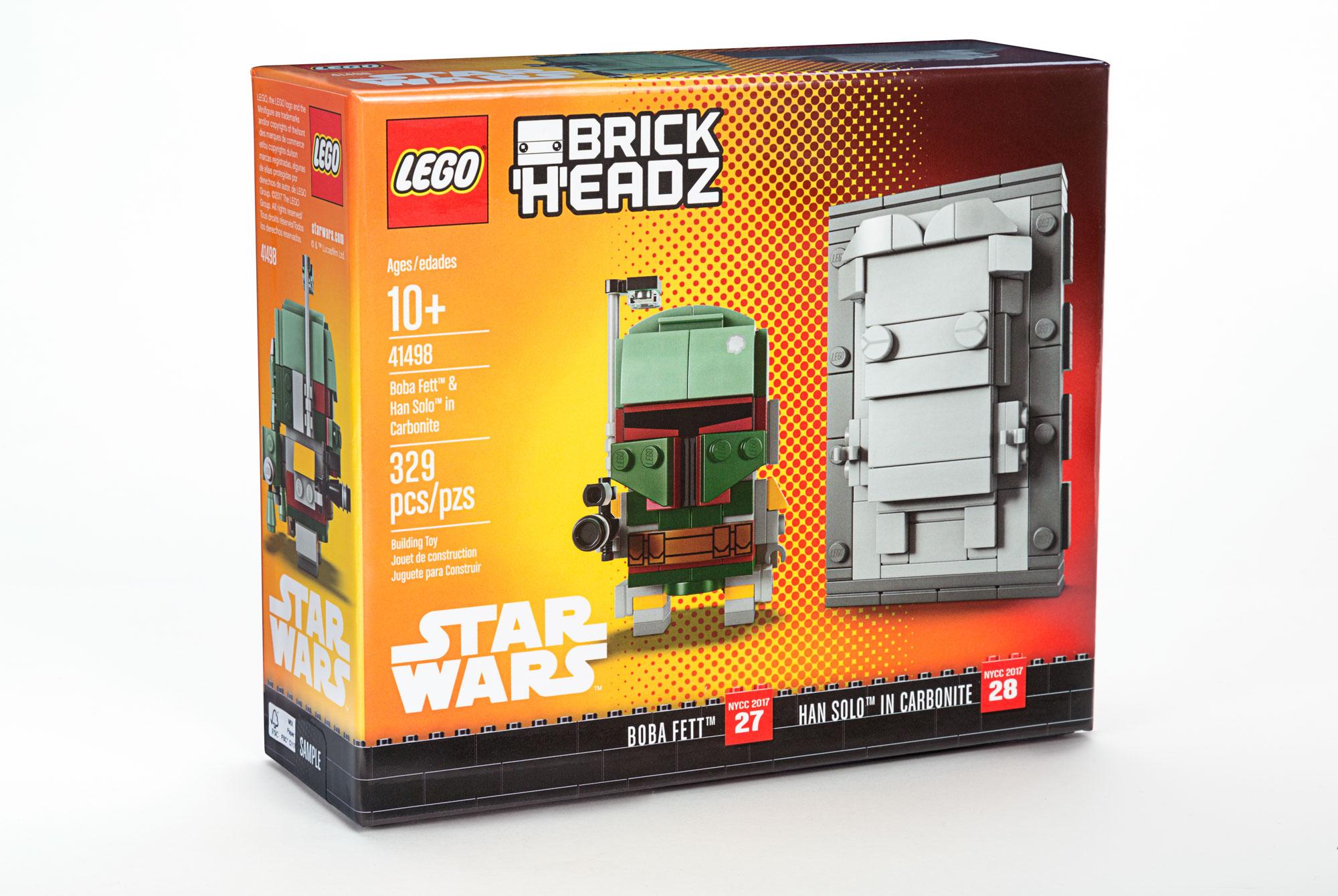 LEGO Unveils Boba Fett/Han Solo Carbonite NYCC Exclusive