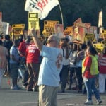 Walt Disney World Union Members Rally for Higher Wages