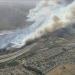 Eerie Skies Cover Disneyland as Anaheim Hills Fire Burns