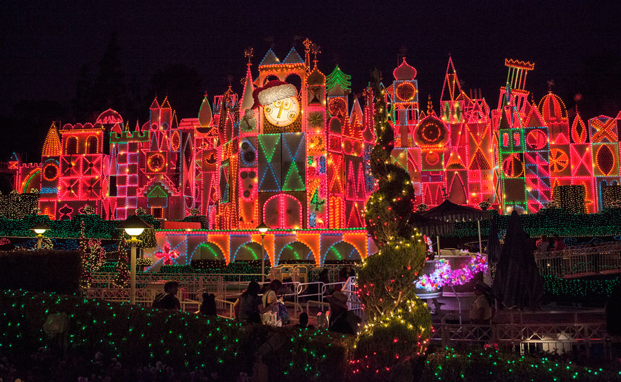disneyland to add fastpass maxpass for its a small world holiday - When Does Disneyland Decorate For Christmas 2017