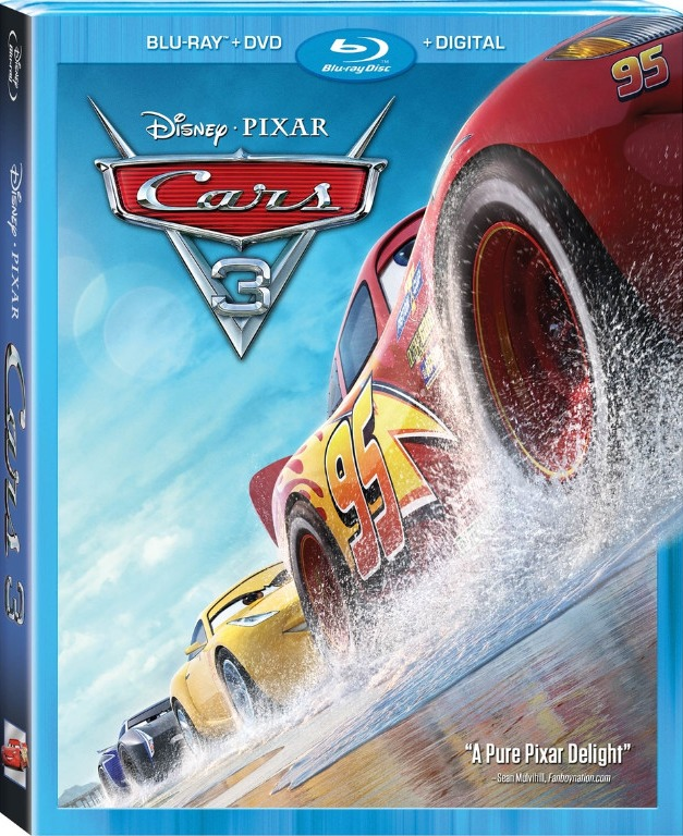 "Blu-Ray Review: ""Cars 3"""
