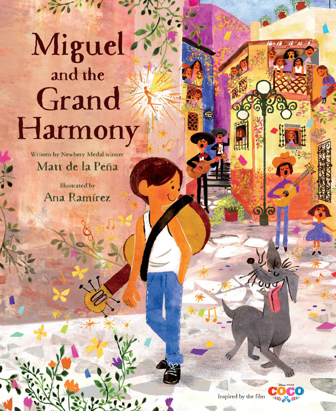 "Children's Book Review: Miguel and the Grand Harmony (Inspired by ""Coco"")"