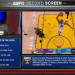 ESPN Airing Second Screen Experience for Warriors – Laker Game