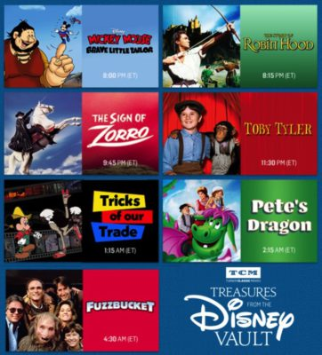 Tcm S Treasures From The Disney Vault December 2017 Laughingplace Com
