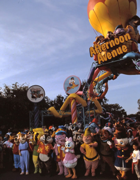 Disney Extinct Attractions: Disney Afternoon Avenue