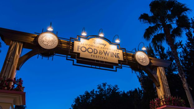 Disney California Adventure Food & Wine Festival Returning March 2