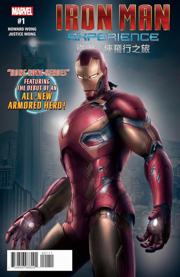 Iron Man: Hong Kong Heroes Based on Hong Kong Disneyland Attraction Coming in March