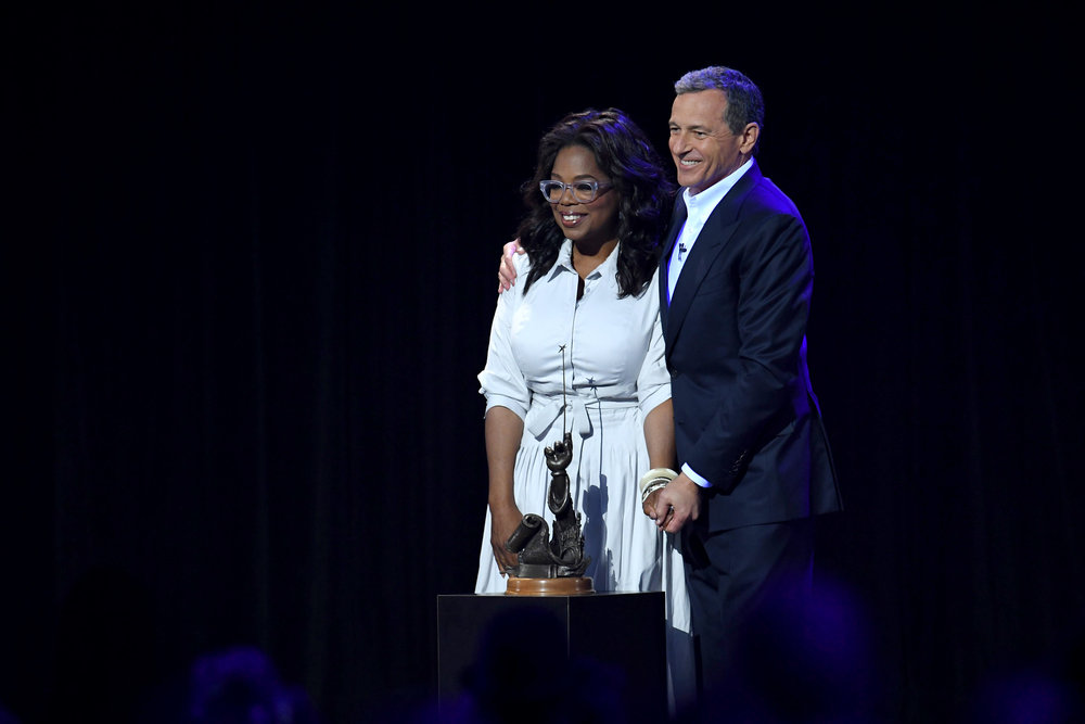 Bob Iger Supports Oprah