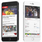ESPN Launches Brazil Version of App