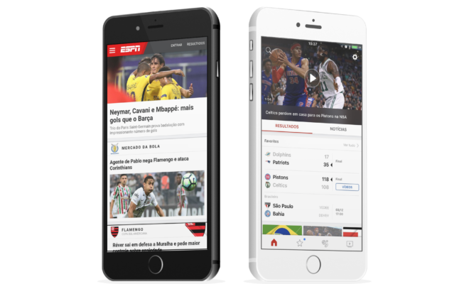 ESPN Launches Brazil Version of App - LaughingPlace com