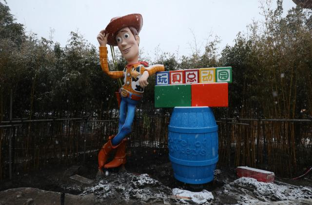 Woody and Jessie Added to Shanghai Disneyland's Toy Story Land