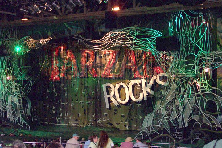 Disney Extinct Attractions: Tarzan Rocks (a Roller Coaster)