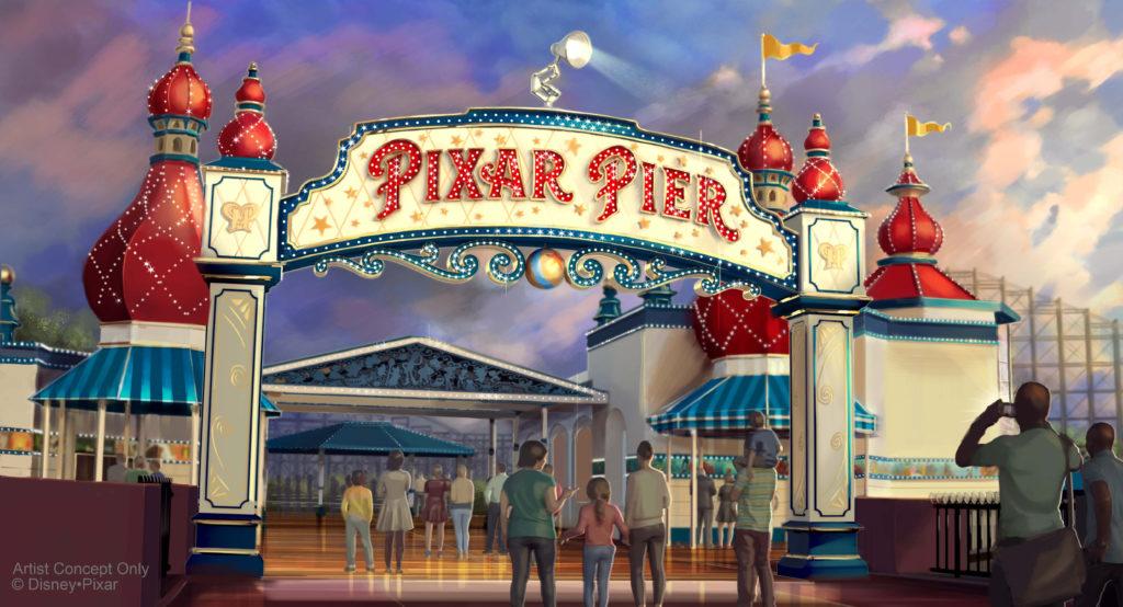 Pixar Pier Preview