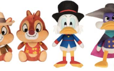 Funko to Release Disney Afternoon Plush Set