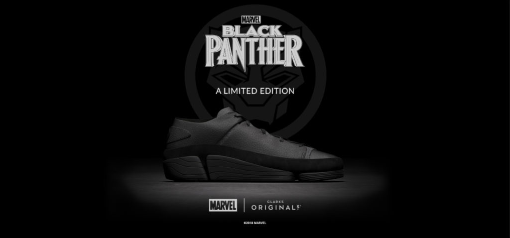 Clarks Originals Creates Limited Edition Black Panther Shoe