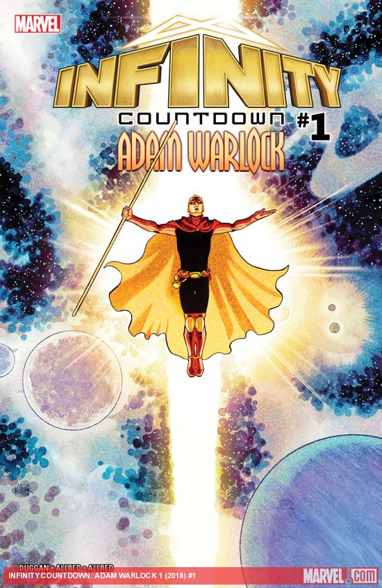 Adam Warlock Was Born From The Knowledge Of Four Earths Best Scientists But He Never Obtained A Soul Until Entered Gem