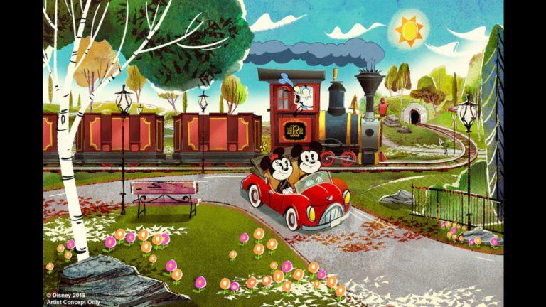 Mickey & Minnie's Runaway Railway Opening in 2019