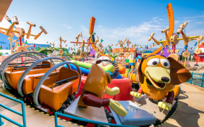 New Images of Shanghai Disneyland's Toy Story Land