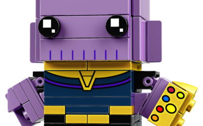 "LEGO Reveals Four BrickHeadz Figures for ""Avengers: Infinity War"""