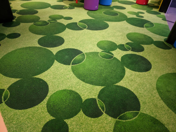Just a few Hidden Mickeys in the carpet