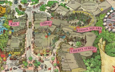 Disney Extinct Attractions: Liberty Street and Edison Square