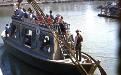 Disney Extinct Attractions: Indian Village and Mike Fink Keel Boats