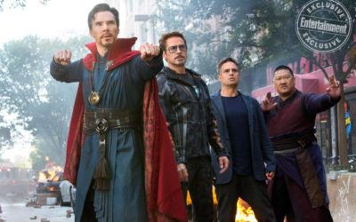 "Entertainment Weekly Releases Pictures from ""Avengers: Infinity War"""