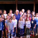 Dick Van Dyke Visits With the Cast of Mary Poppins Jr.