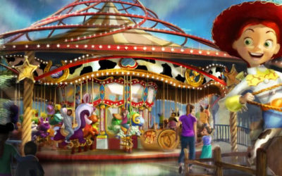 New Details of Pixar Pier Including Jessie's Critter Carousel Released