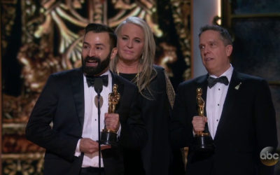 Coco Wins Oscars for Animated Feature and Original Song