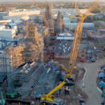 Disney Releases Drone Footage of Star Wars: Galaxy's Edge Construction