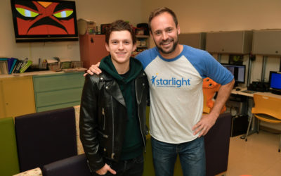 Tom Holland Delivers First Set of Marvel: The Universe Unites Toys to Hospital