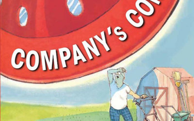 "Children's Book Review: ""Company's Coming"" & ""Company's Going"" by Arthur Yorinks"