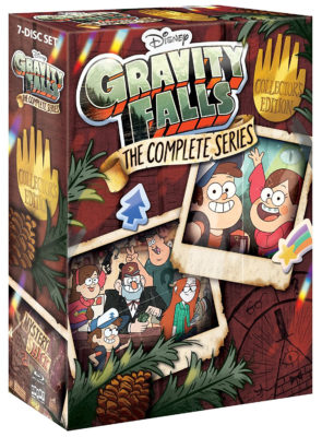 gravity falls complete series coming to blu ray and dvd july 24th