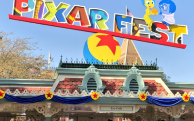 Take a Tour of All the Pixar Fest Decor