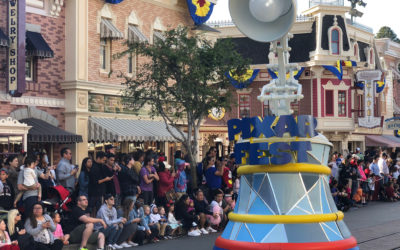 Pixar Play Parade Makes Disneyland Park Debut with New Floats