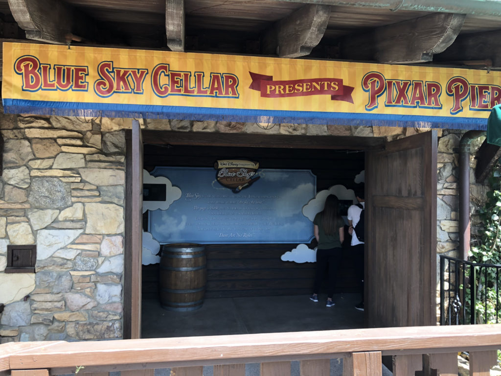 Blue Sky Entrance