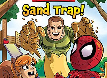 Book Review - Marvel Super Hero Adventures: Sand Trap! (Early Reader Chapter Book)