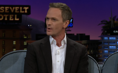 "Neil Patrick Harris Shares His Love for Disney on ""The Late Late Show"""