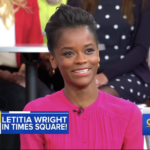 """Letitia Wright Shares """"Infinity War"""" Clip on """"Good Morning America"""""""