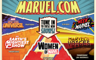 Marvel Announces New Digital Content Lineup