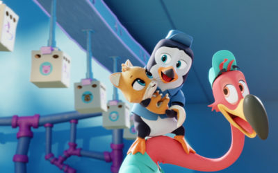 """Disney Junior Greenlights """"T.O.T.S."""" From """"Vampirina"""" Writer"""