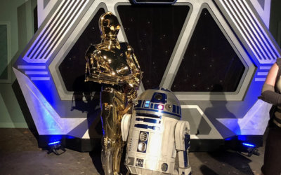 Star Wars Nite R2D2 and C3PO
