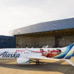 Alaska Airlines Incredibles 2 Plane Debuts