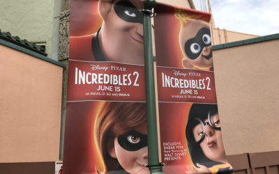 """Incredibles 2"" Preview Arrives at Disney's Hollywood Studios, Disney California Adventure"